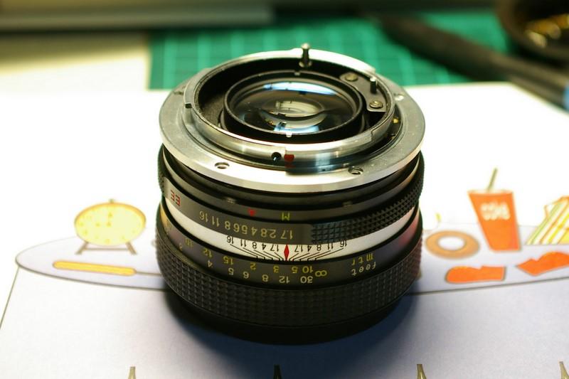 c.c petri 1:1.7 55mm 改鏡